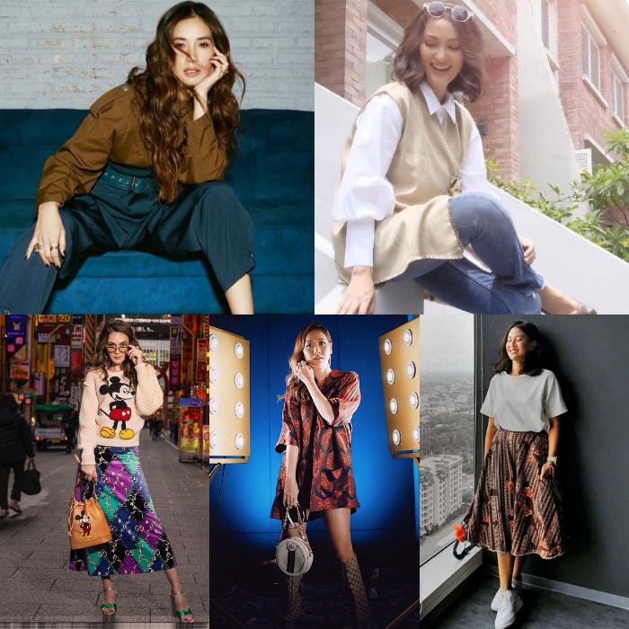 inspirasi outfit lebaran