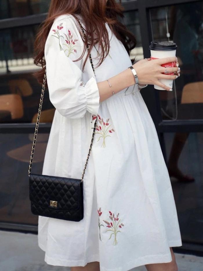 dress untuk ibu hamil